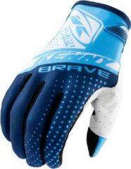 Blauwe Kenny Brave glove blue MTB / BMX handschoenen - Maat:8