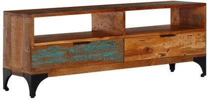 Afbeelding van VidaXL Tv-meubel 118x35x45 cm massief gerecycled hout