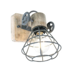 Anne Light & home Wandlamp Anne Lighting Guernsey Grijs