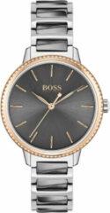 Hugo Boss BOSS HB1502569 SIGNATURE - Horloge - Staal - Grijs -Ø 34 mm