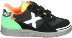 Groene Munich jongens klittenbandschoen - Zwart - Maat 29