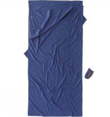Cocoon - TravelSheet Egyptian Cotton - Reisslaapzak maat 240 x 114 cm, blauw