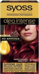Syoss - Oleo Intense Hair Dye Permanently Coloring From Oils 5-92 Bright Red