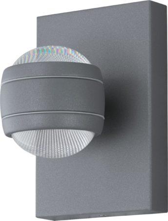 Afbeelding van EGLO Sesimba - Buitenverlichting - LED - Wandlamp - 2 Lichts - Zilver