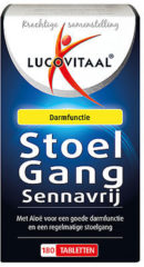 Lucovitaal Stoelgang Sennavrij Darmfloramiddel Voedingssupplementen - 180 tabletten