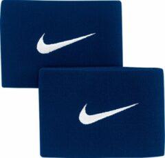 Blauwe Nike Guard Stay II Voetbalbandjes - Blauw