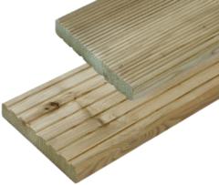 Woodvision Vlonderplank Douglas | 24 x 138 mm | Geïmpregneerd | 300cm