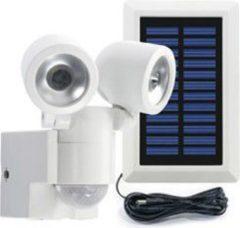Gutkes Komfortabler Solar-LED-Spot Duo LPL 130 weiß