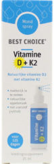 Best Choice Vitaminespray vitamine D3 + K2 (25 Vitamine