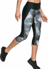 Zwarte Under Armour - Armour Fly Fast Printed Capri - Dames - maat XS