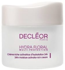 Decléor Gesichtspflege Hydra Floral Multi-Protection Crème Activatrice D'Hydratation 24h riche 50 ml