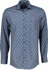 Casa Moda Overhemd - Regular Fit - Blauw - 5XL Grote Maten
