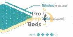Witte Pro Sleep Beds - T-Visco Topper - 120x-200 - 5cm
