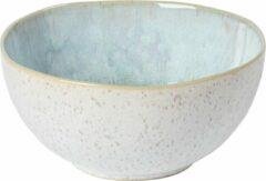 Blauwe Costa Nova - servies - soepkom Eivissa - 0,67L - aardewerk - set van 6 - 15,8 cm rond