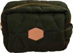 Filibabba - Kleine zak - Soft quilt Dark groen - One size