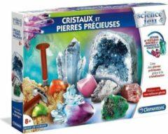 CLEMENTONI Science & Game - Kristallen en edelstenen - Wetenschappelijk spel