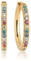 Sif Jakobs Jewellery Sif Jakobs sieraden Dames Hoops 925 sterling zilveren zirconia One Size 87706249