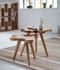 Trendfabrik MiaVILLA Beistelltisch-Set, 2-tlg. Jim Natur