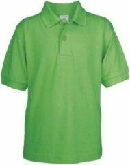 Bc Poloshirt groen voor kinderen Casual Modern S (110-116)
