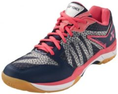Marineblauwe Yonex Badmintonschoenen Power Cushion Comfort 2 Navy/roze Mt 42