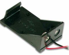 Velleman Batterijhouder Voor 1 X 9v-cel (met Draden)