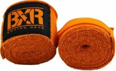 Bandages voor bokshandschoenen BXR | oranje | 2,5 meter