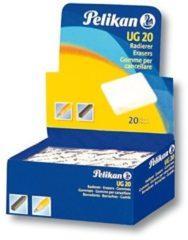 Pelikan UG Gomma pane bianca - utilizzo per cartoncino e gesso