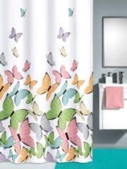 Duschvorhang mit farbenfrohem Motiv Kleine Wolke multi