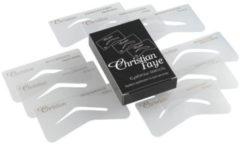 Transparante Christian Faye Christian f.eyebr.stencil mss 9 st