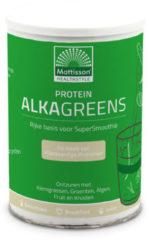 Groene Mattisson / Absolute AlkaGreens Proteïne Poeder – 300 gram