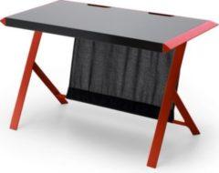 MCA-furniture McRacing Table Schreibtisch in schwarz/rot