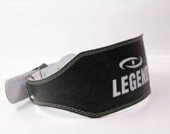 Zwarte Legend Sports Fitness Riem Leder Legend XS