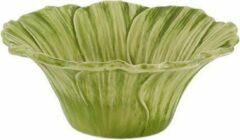 Bordallo Pinheiro Maria Flor Cosmos Schaaltje - Groen/Geel - Set van 2 - Aardewerk - Ø 16 cm
