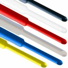 Fixapart Krimpkous 6x van 3,2mm naar 1,6mm 0,5m zwart wit blauw rood geel en transparant
