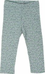 R Rebels | Katoenen baby legging | Groene bloemenprint | Maat 62