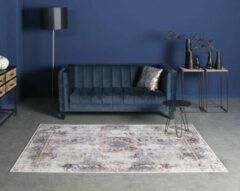 Joy de Vivre Vintage vloerkleed - Nostalgia No.4 - paars/blauw 160x230 cm