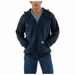 Carhartt - Zip Hooded Sweatshirt - Hoodie maat S, grijs/zwart/grijs/zwart/zwart/purper/blauw/beige/rood/blauw/zwar