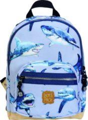 Pick & Pack Cute Shark Backpack S light blue Kindertas
