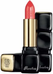 Koraalrode Guerlain Kiss Kiss Creamy Shaping Lip Colour Lipstick - 344 Sexy Coral - Lippenstift