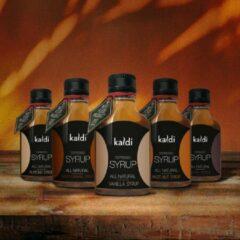 Kaldi Koffie siroop - Proefpakket 5 x 100ml