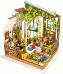 Robotime DIY modelbouw pakket Dollhouse Kit-Miller's Garden - Houten Bouwpakket