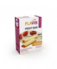 Mevalia Flavis Fruit Bar barretta aproteica con ripieno di fragola 5x25g