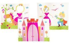 Roze Flexa Bedgordijn Princess