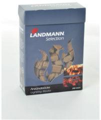 Landmann Aanmaakblokjes CO2-neutraal - doos 200 stuks