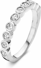 Velini jewels -R6251W-58 -Ring -925 Zilver gerodineerd -Cubic Zirkonia