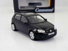 Zwarte Cararama VW GOLF GTi 1:43