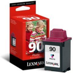 Cyane Lexmark 90 inktcartridge - Cyaan / Magenta / Geel