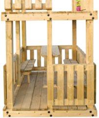 Hillhout Picknickset ten behoeve van speeltoestel Orang-Oetan en Gorilla