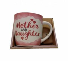 Roze Miko - Mok - Enjoy - met binnentekst - Mother & daughter