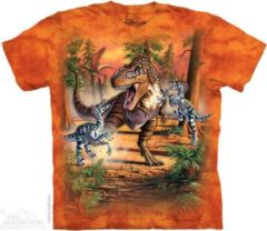 Oranje The Mountain The Mountain KIDS T-shirt Dino Battle XL Unisex T-shirt 152